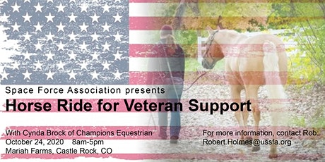 Space Force Association - Horse Ride for Veteran Support tickets