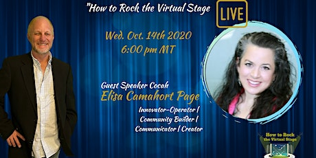 How to Rock the Virtual Stage Show with Elisa Camahort Page tickets