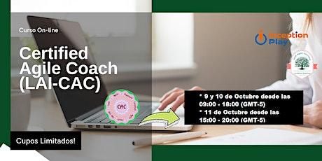 Certified Agile Coach (LAI-CAC) - Curso Online entradas