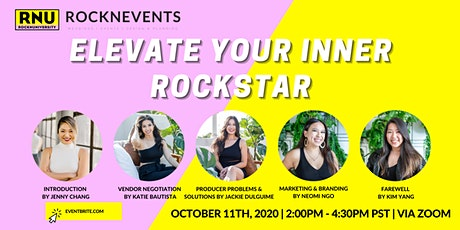 ELEVATE YOUR INNER ROCKSTAR boletos