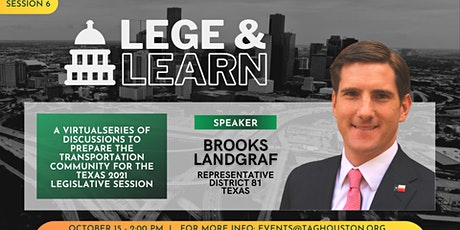 TAG Lege & Learn - Brooks Landgraf tickets
