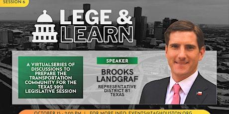 TAG Lege & Learn - Brooks Landgraf tickets