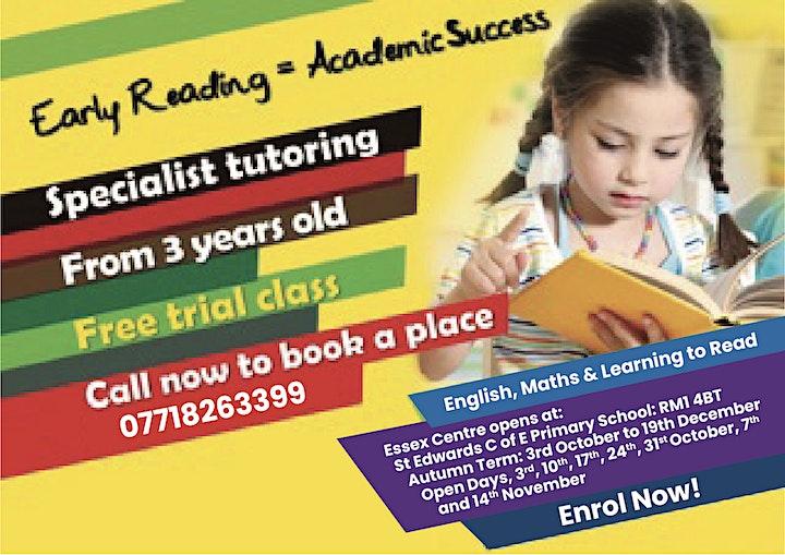 LEADERS ARE READERS EDUCATION- SATURDAY  SCHOOL image