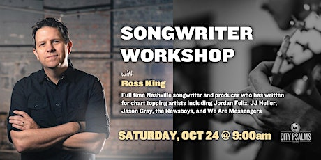 Songwriter Workshop with Ross King tickets