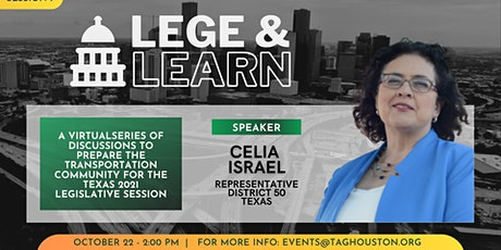 TAG Lege & Learn - Celia Israel tickets