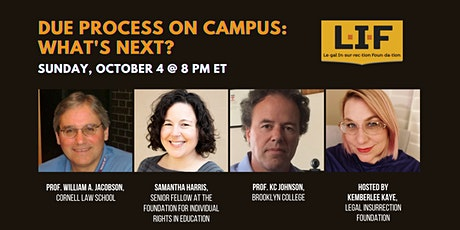 Due Process on Campus: What's Next? tickets