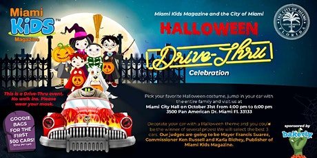 Miami Kids Magazine and City of Miami Drive-Thru Halloween Celebration tickets
