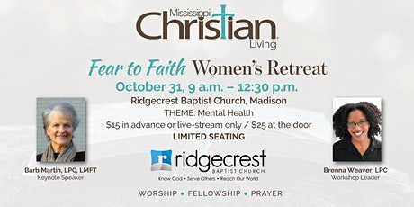 Women's Retreat: Fear to Faith tickets