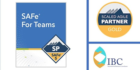 SAFe® for Teams 5.0 ( EST time zone)- Remote class tickets