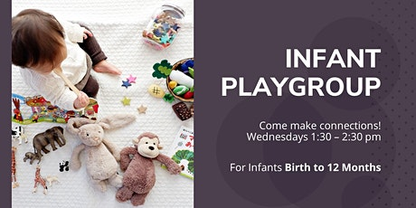 Indoor Infant Playgroup - Wednesday September 30, 1:30-2:30 tickets