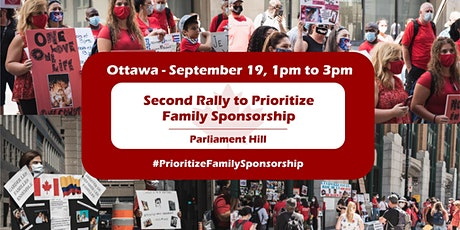 Rally to Prioritize Family Sponsorship - Ottawa tickets