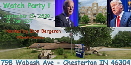 Presidential Debate Watch Party/Meet and Greet by Dion Bergeron For Indiana tickets