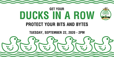 Ducks in a Row - Protect Your Bits & Bytes tickets