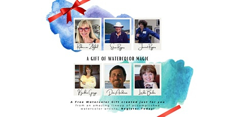 A Gift of Watercolor Magic tickets