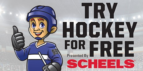 Try Hockey for Free - October 3rd, 2020 tickets