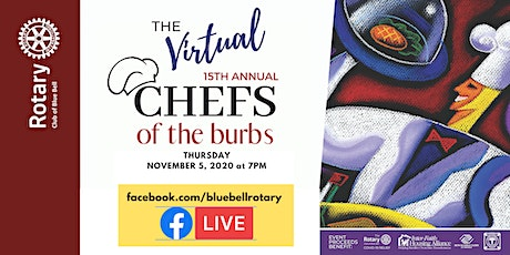 15th Annual (Virtual) Chefs of the Burbs!  'Together We Thrive' tickets