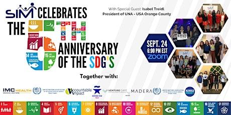 SDG 5th Anniversary tickets