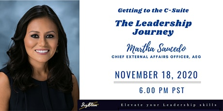 Getting to the C-Suite: The Leadership Journey tickets