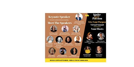 Ignite Your Life, Live Your Passion Virtual Summit tickets