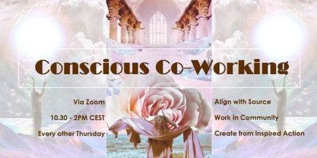 Conscious Co-Working - Online Sessions (Feb - May 2021) tickets