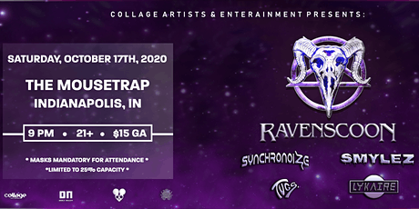 Ravenscoon at The Mousetrap - Indianapolis, IN tickets