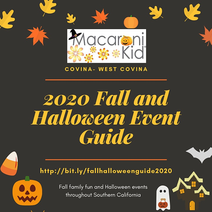 Halloween Festivals In Southern California 2020 2020 Fall and Halloween Events Guide for Southern California