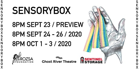 Ghost River Theatre SensoryBox tickets
