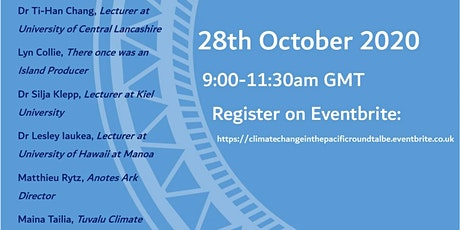The International Roundtable on Climate Change in the Pacific tickets