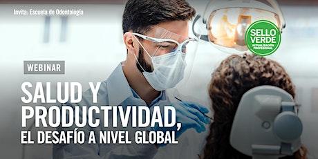 #SELLOVERDE: Salud y productividad, el desafío a nivel global. entradas