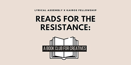 Reads for the Resistance: A Book Club for Creatives tickets