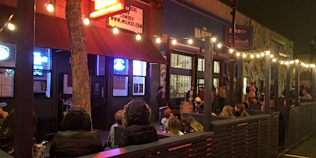 OUTDOOR STAND-UP COMEDY at the MILK BAR (PARKETT PUNCHLINES) tickets