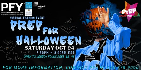 PrEP for Halloween - A Fashion Event tickets