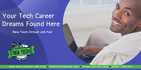 New Tech Virtual Job Fair tickets