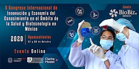 Innovación y Economía del Conocimiento de Salud y Biotecnología en México boletos