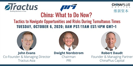 China: What to do Now? Tactics to Navigate Opportunities and Risks tickets