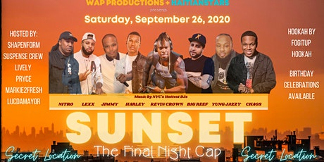 SUNSET: The Final Night Cap tickets
