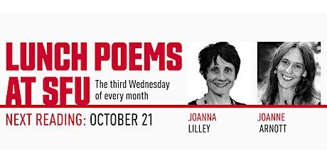 Lunch Poems presents Joanne Arnott & Joanna Lilley tickets