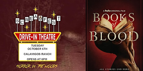 "Books of Blood - Screamfest Opening Night  ""Horror in the Woods"" Drive-In tickets"