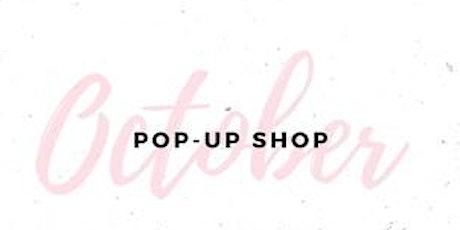 October Pop-Up Shop tickets