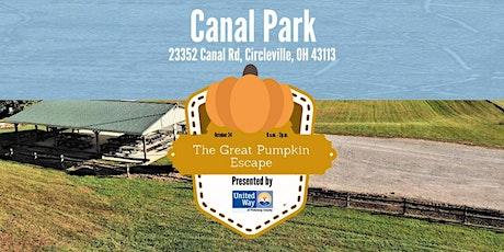 The Great Pumpkin Escape Fundraiser tickets