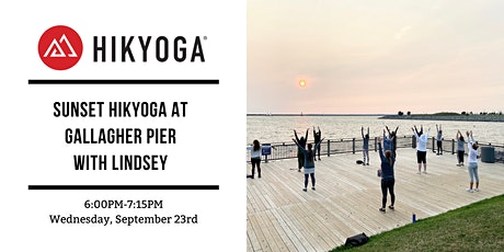 Sunset Hikyoga at Gallagher Pier with Lindsey tickets