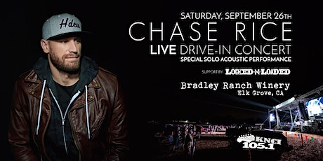 Chase Rice - LIVE Drive-In Concert tickets