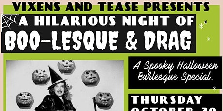 A Hilarious Night Of Boo-Lesque tickets