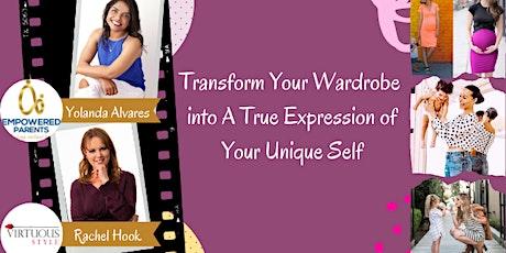 Transform Your Wardrobe into A True Expression of Your Unique Self tickets