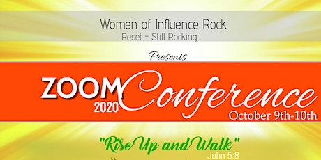 Women of Influence Rock 2020 - Rise Up and Walk - Virtual Conference tickets