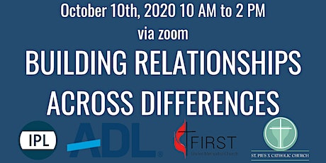 Building Relationships Across Differences tickets