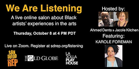 We Are Listening feat. Karole Foreman tickets
