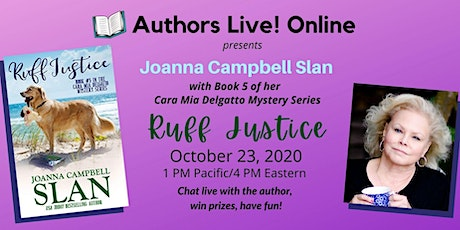 Book Launch Party for Ruff Justice by Joanna Campbell Slan tickets