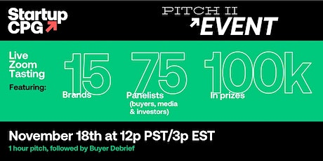 Startup CPG Pitch II tickets