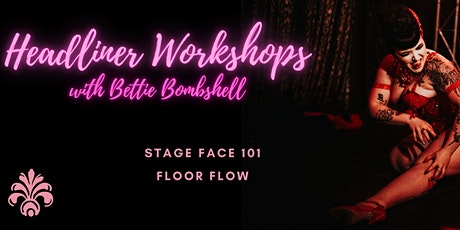 HEADLINER WORKSHOPS - Perth International Burlesque Festival tickets